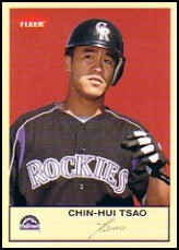2005 Fleer Tradition #186 Chin-Hui Tsao