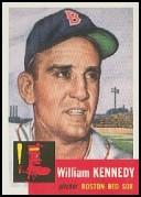 1991 Topps Archives '53 #94 Bill Kennedy