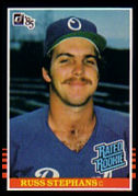 1985 Donruss #42 Russ Stephans