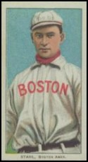 1909-11 T206 Jake Stahl (no glove)