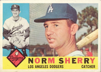 1960 Topps #529 Norm Sherry