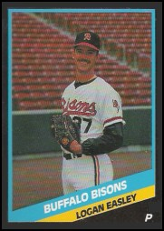 1988 CMC Buffalo Bisons #1 Logan Easley