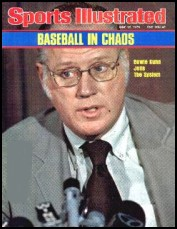 Bowie Kuhn on the cover of Sports Illustrated, June 28, 1976