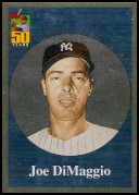 2001 Topps: Before There Was Topps #BT10 Joe DiMaggio