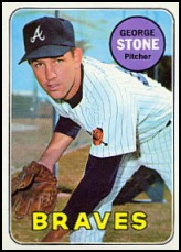 1969 Topps #627 George Stone