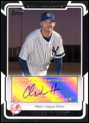 2008 Topps Highlights Autograph #HA-CW Chase Wright