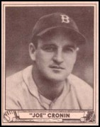 1940 Play Ball #134 Joe Cronin
