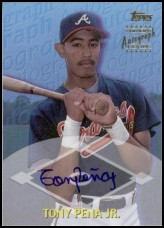 2000 Topps Traded Autographs #TTA39 Tony Pena, Jr.