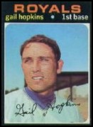 1971 Topps #269 Gail Hopkins