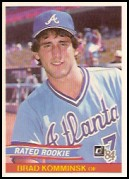 1984 Donruss #36 Brad Komminsk