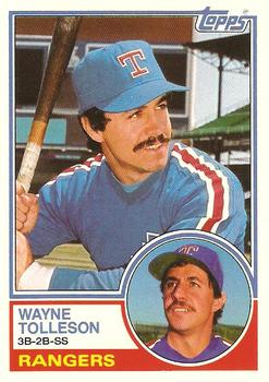 1983 Topps Traded #114T Wayne Tolleson