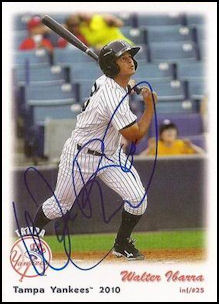 2010 Tampa Yankees - Walter Ibarra (Autographed)