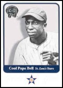 2001 Fleer Greats of the Game #64 Cool Papa Bell