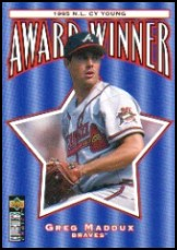 1996 Collector's Choice #709 Greg Maddux