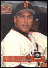 2003 Upper Deck First Pitch #295 Andres Galarraga