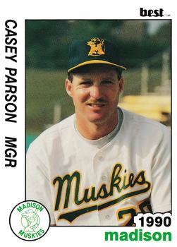 1990 Best Madison Muskies Casey Parsons