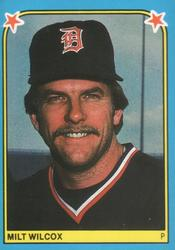 1983 Fleer Stickers #248 Milt Wilcox