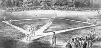 Early baseball
