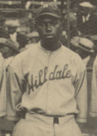 Johnson at the 1924 Negro League World Series