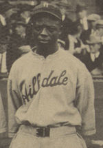 Cockrell at the 1924 Colored World Series