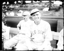 Vitt at Comiskey Park in 1921