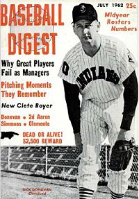 Dick donovan baseball digest july 1962.jpg