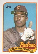1989 Topps #689 Stan Jefferson