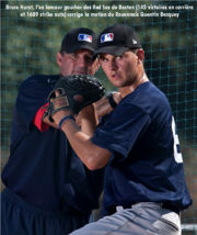 Hurst and Quentin Becquey at the 2009 MLB Academy in Italy.