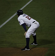 Harris after being hit by pitch-6046.jpg