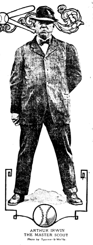 "Irwin the ""Master Scout"" in 1911."