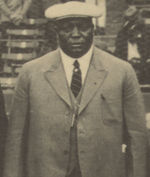 Foster at the 1924 Negro League World Series