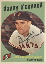 1959 Topps #87 Danny O'Connell
