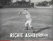 Richie in a TV ad from the 1950's(?).