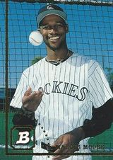 1994 Bowman #2 Marcus Moore