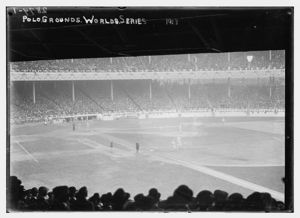 1913 WS at the Polo Grounds